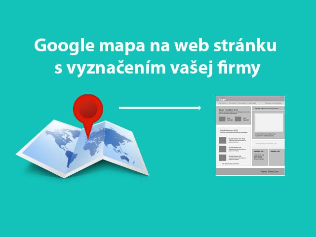 google mapa na web