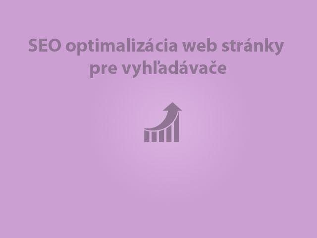 SEO optimalizácia web stránky