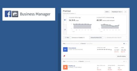 Propagácia stránky cez Facebook Business Manager