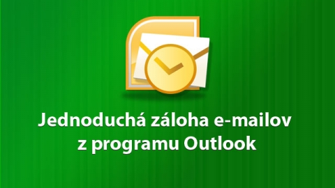 záloha Outlook